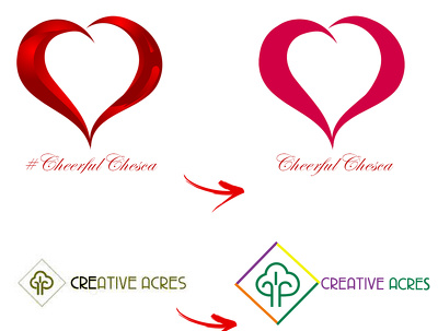 Make Small Amendments to Existing Logo