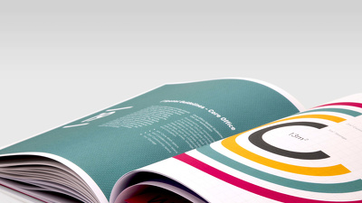 Design an amazing  8 page brochure or magazine in Adobe Indesign