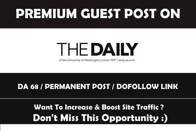I Will Provide Edu Backlinks In Student Newspaper Advice Column