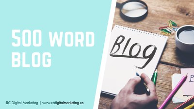 500 word Blog Post