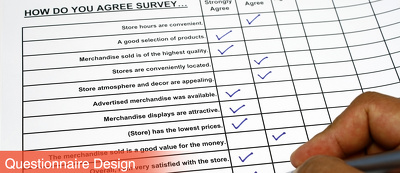 Develop your questionnaire to professional standard