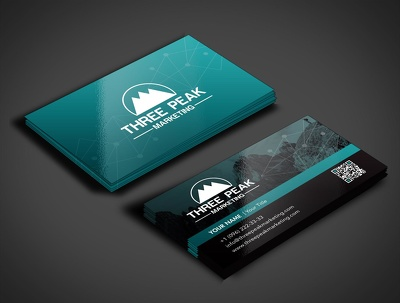 Design professional business card+2 initial concepts+source file