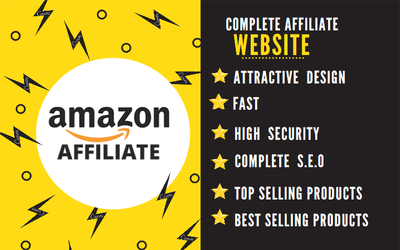 Create amazon affiliate website for passive income