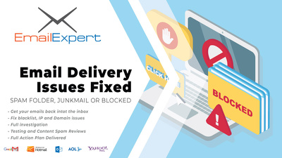 Fix Email Delivery Issues, Spam Or Junkmail Problems