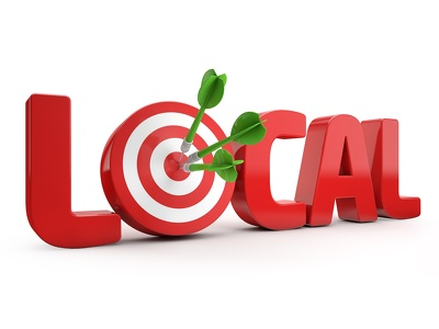 generate local leads and contact them through contact info forms