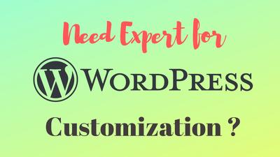 Bug fixing or Customizing existing Wordpress website