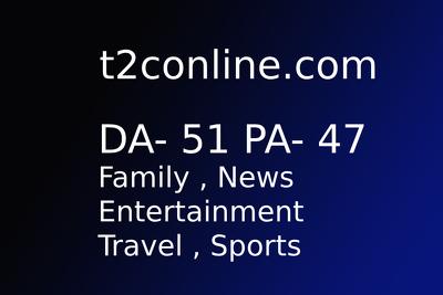 Publish guest post on t2conline.com DA - 52 High Traffic Site
