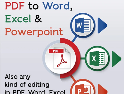 Convert PDF to WORD / Excel