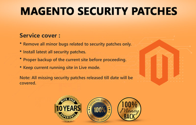 Install Magento Security Patches