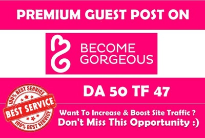 Write & Publish Guest Post on Fashion site DA46 with DF Link