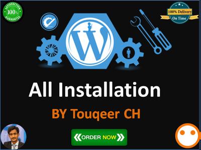 install Wordpress Theme, Plugin And Import Demo Data