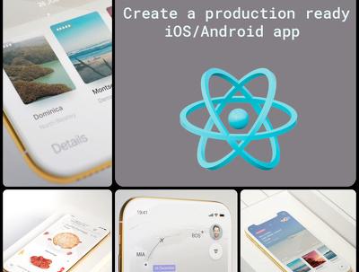 Develop a professional grade react native / redux app