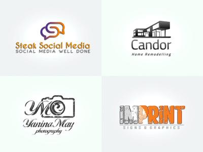 Modern & Unique Logo Design + Unlimited Revisions