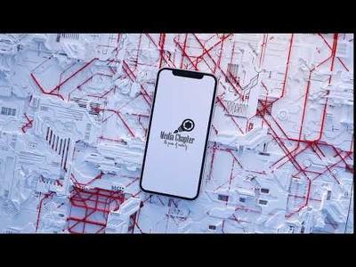 Mobile based logo intro animation