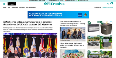 Spanish Guest Post on Argentinian News site Cronista.com DA-88