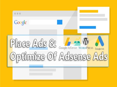 Place Ads And Optimize Quality Of Adsense Ads