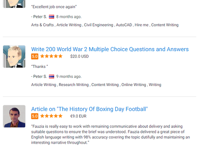 I will write 1000 Words SEO Articles and Blogs