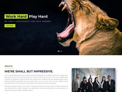 Develop stunning HTML5, Bootstrape Website