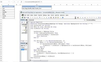 Create Custom User Defined Function (UDF) In Excel using VBA