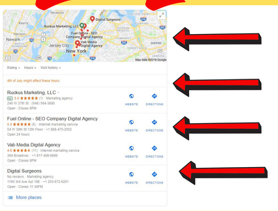 Create 1500 Google Maps Bookmarks For You