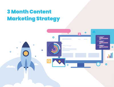 3 month bespoke content marketing strategy full of goodies