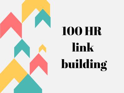 100 HR link building