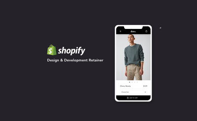 Shopify Design and Development retainer 8 hours