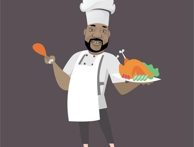 Design Restaurant, Fast Food, Cafe And BBQ Logo