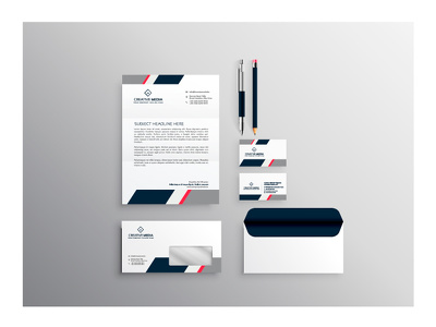 Create professional stationary design & Business caed