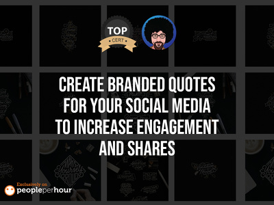 Branded quotes for your social media to increase eng & shares