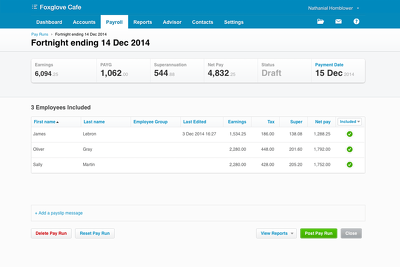 Set up 1-10 employees on Xero Payroll