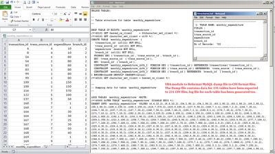Convert/Reformat data files using Python/VBA