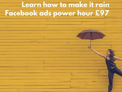 Facebook Ads Power Hour online laser training