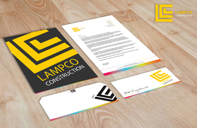 Beautifully execute/update your business stationary