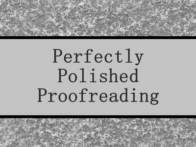 Proofread and edit your text