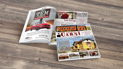 Design your magazine / newspaper