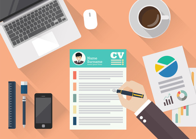 Rewrite and design your CV within 2 days