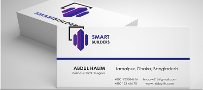 Design any 'Business card' within 24 hours.