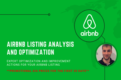 Improve and optimize your Airbnb listing in just 24 hours