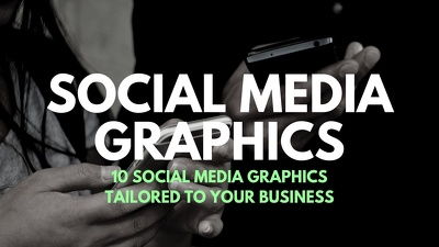 Create 10 social media quote graphics tailored to your business