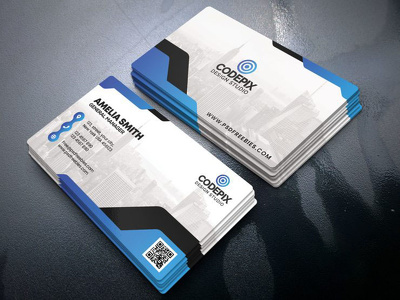 Design Double sided professional Business Card