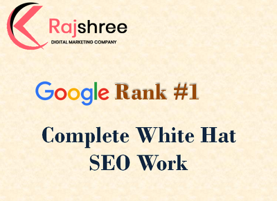 Offer white hat organic  SEO - Ranking on Google guaranteed