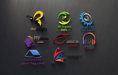 Design Professional Logo + Unlimited Revisions + Business Card