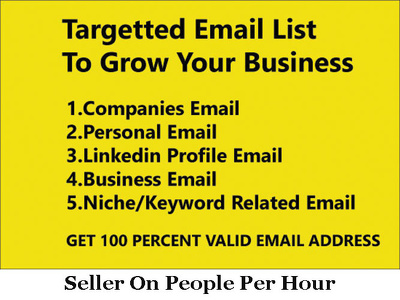 Collect Your Targeted Email List
