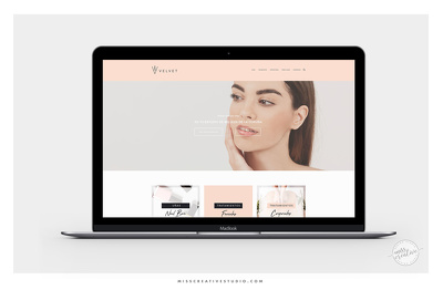 Design a beautiful responsive Wix or Squarespace website