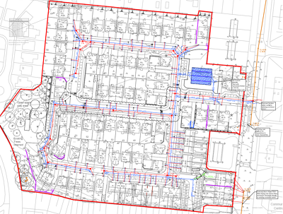 Design roads, drainage and plot levels for newbuild residential