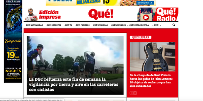 Spanish guest post on Que.es DA90