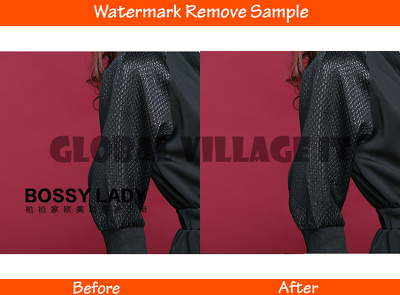 professionally remove watermark from picture