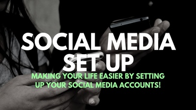 Set up your social media accounts