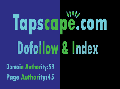 DO publish a guest post on tapscape. com